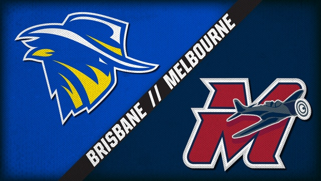Brisbane Bandits vs. Melbourne Aces (1/25/21)