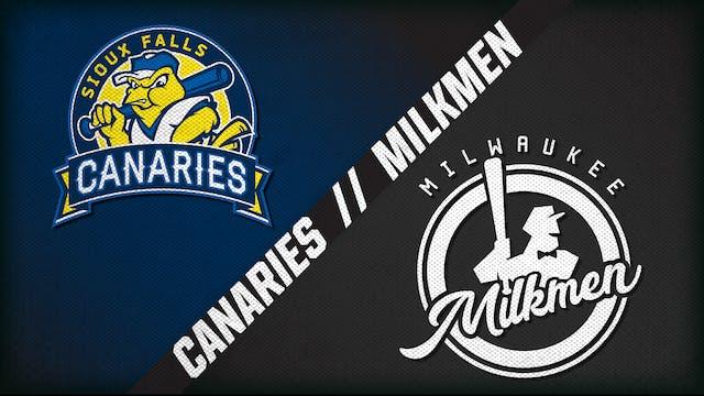 Sioux Falls vs. Milwaukee (8/5/20)
