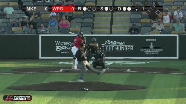 Goldeyes Highlights: August 21, 2020 vs. Milwaukee