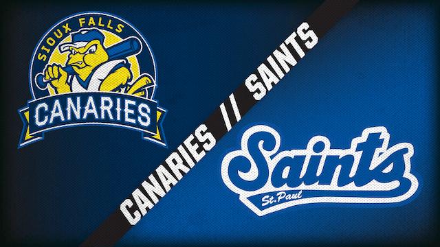 Sioux Falls vs. St. Paul (8/30/20)