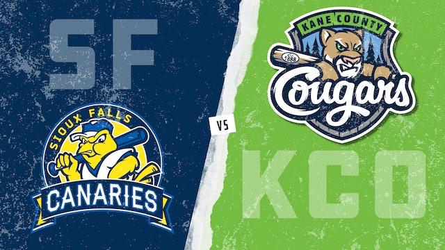 Sioux Falls vs. Kane County (7/31/21)