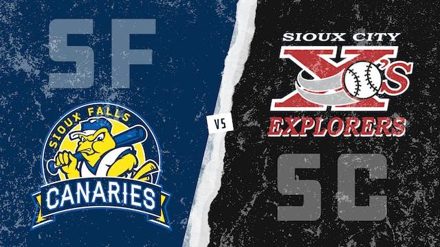 Sioux Falls vs. Sioux City (7/15/21)
