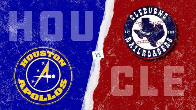 Houston vs. Cleburne (8/1/21)