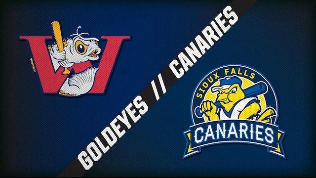 Winnipeg vs. Sioux Falls (8/14/20)