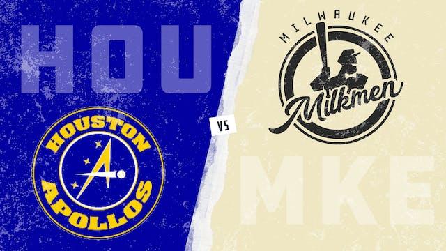Houston vs. Milwaukee (8/15/21)
