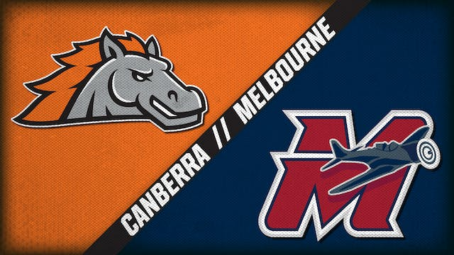 Canberra Cavalry vs. Melbourne Aces -...
