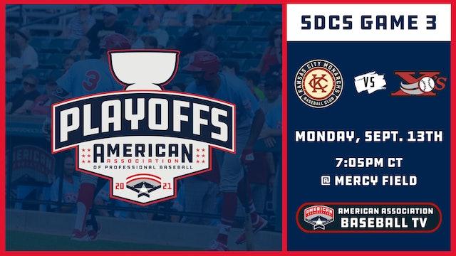 Kansas City vs. Sioux City - Game 3 (9/13/21)