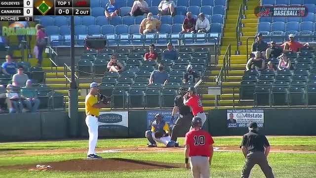 Goldeyes Highlights: August 16, 2020 at Sioux Falls