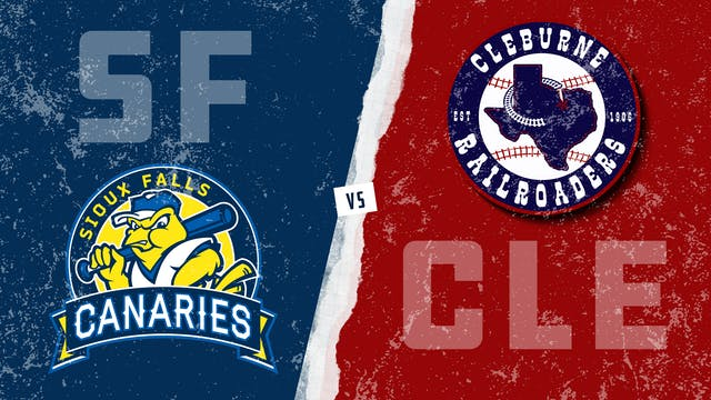 Sioux Falls vs. Cleburne (8/25/21)