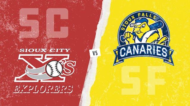 Sioux City vs. Sioux Falls (7/22/21)