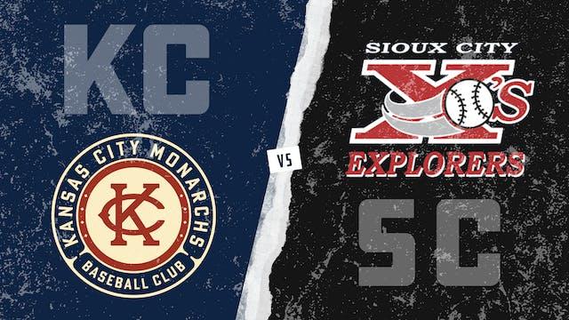 Kansas City vs. Sioux City - Game 2 (...