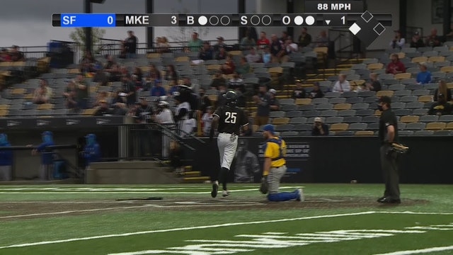 Milkmen Championship Highlights Game 1 - MKE 11 - SF 6 - 091220