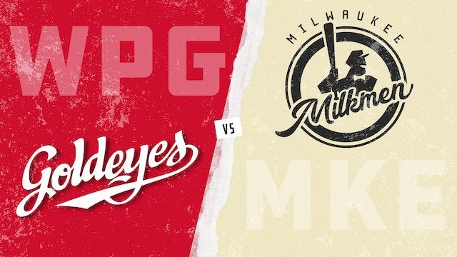 Winnipeg vs. Milwaukee (5/25/21)