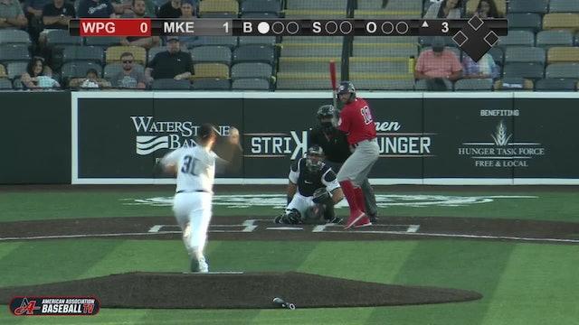 Goldeyes Highlights: August 18, 2020 at Milwaukee