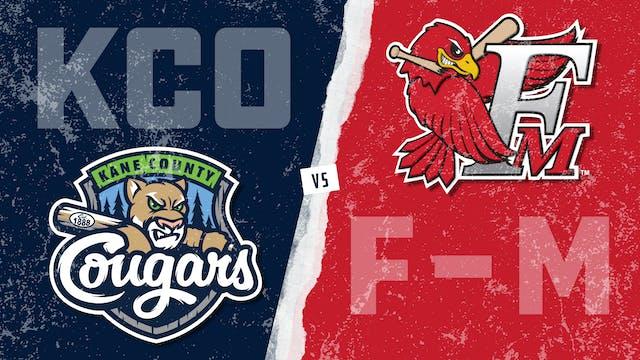Kane County vs. Fargo-Moorhead (8/10/21)