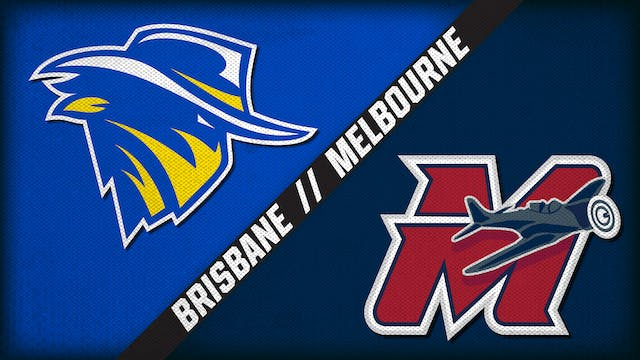 Brisbane Bandits vs. Melbourne Aces (...