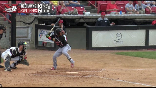 Kyle Wren Makes Sliding Catch To Rob a Hit