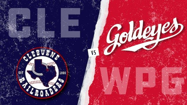 Cleburne vs. Winnipeg (6/24/21)