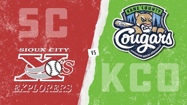 Sioux City vs. Kane County (6/17/21) ...