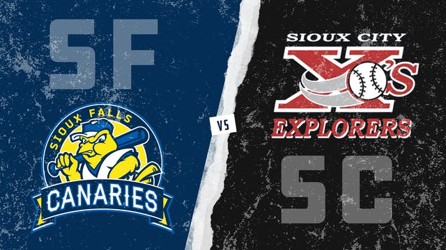 Sioux Falls vs. Sioux City (7/13/21)