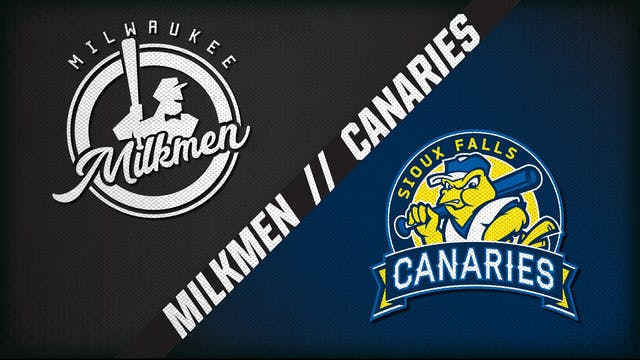 Milwaukee vs. Sioux Falls (7/29/20)