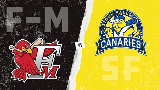 Fargo-Moorhead vs. Sioux Falls (8/13/21)
