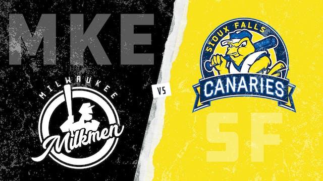 Milwaukee vs. Sioux Falls (6/16/21)