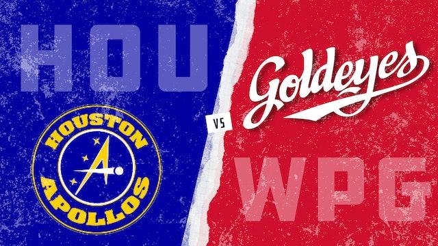 Houston vs. Winnipeg - Game 1 (6/26/21)