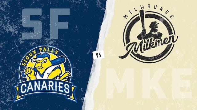 Sioux Falls vs. Milwaukee (7/28/21)