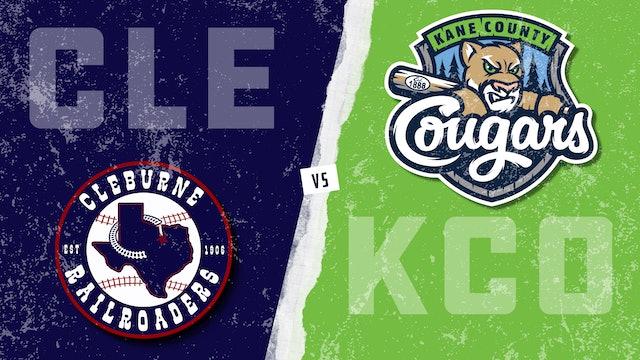 Cleburne vs. Kane County - Game 2 (7/11/21)