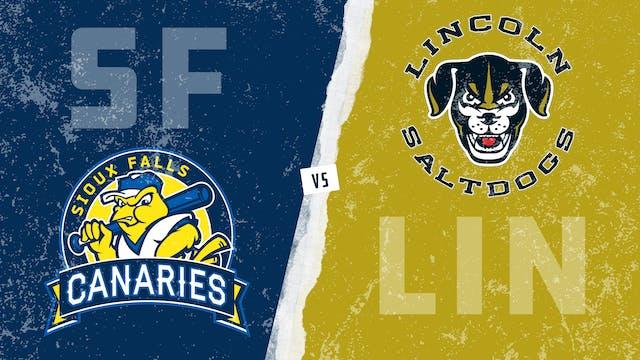 Sioux Falls vs. Lincoln (8/21/21)