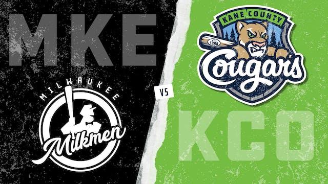 Milwaukee vs. Kane County (7/25/21)
