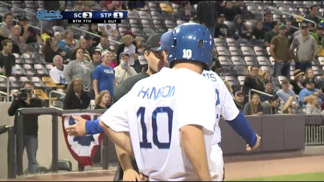 Michael Lang's Clutch Throw, Game Four, AA Semifinals 2015