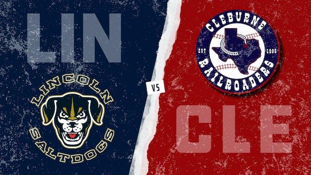 Lincoln vs. Cleburne (5/21/21)