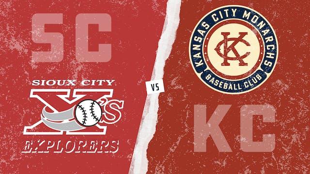 Sioux City vs. Kansas City - Game 1 (...