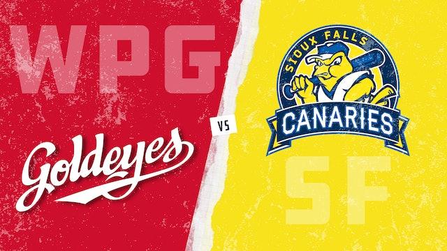 Winnipeg vs. Sioux Falls (5/20/21)