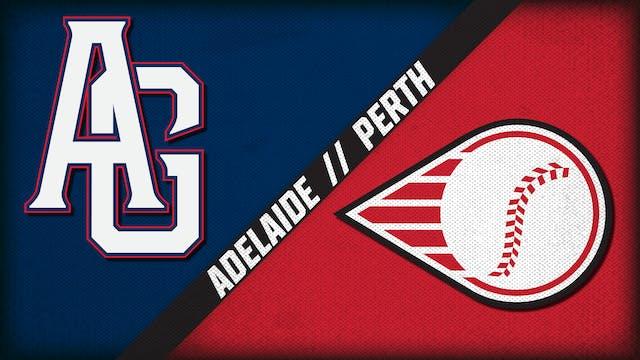 Adelaide Giants vs. Perth Heat (1/25/21)