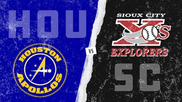 Houston vs. Sioux City (8/25/21)