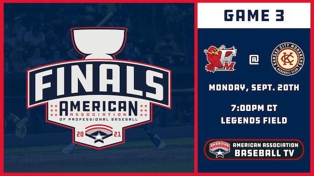 Fargo-Moorhead vs. Kansas City - Game 3 (9/20/21)