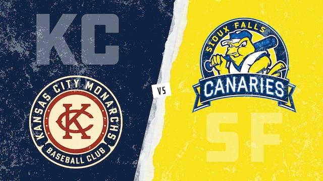 Kansas City vs. Sioux Falls - Game 2 ...