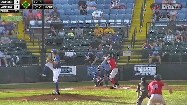 Goldeyes Highlights: August 15, 2020 at Sioux Falls