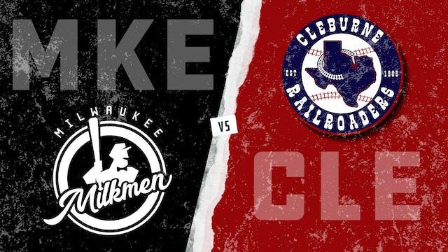 Milwaukee vs. Cleburne - Game 1 (8/19...