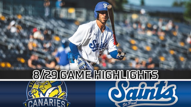 GAME HIGHLIGHTS: 8/29/2020 VS SIOUX FALLS