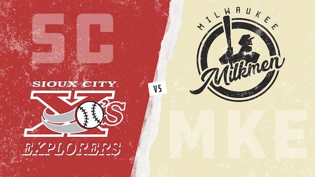 Sioux City vs. Milwaukee (6/1/21)