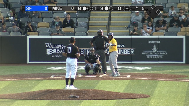 Milkmen Championship Highlights - Game 2 - MKE 2 SF 0 - 091320