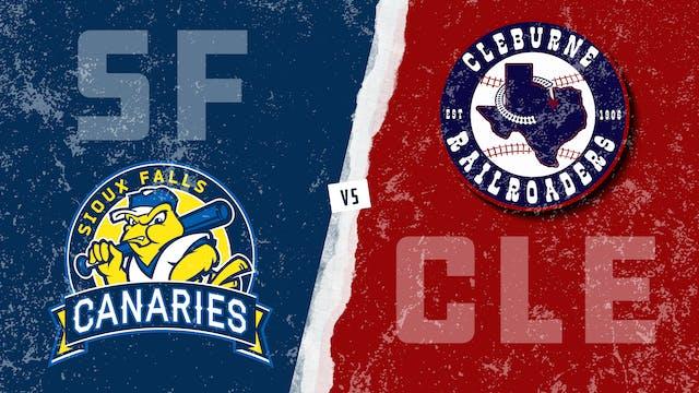 Sioux Falls vs. Cleburne (8/23/21)