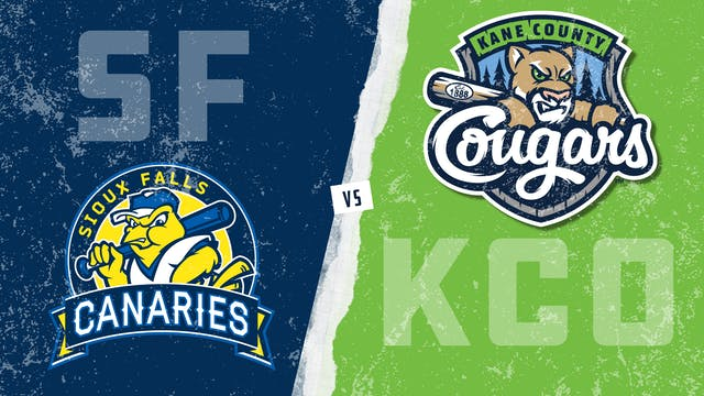 Sioux Falls vs. Kane County (8/1/21)