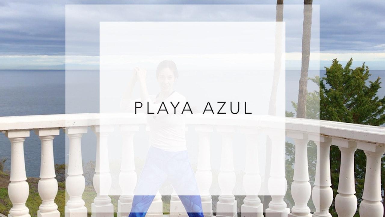 Playa Azul: 16 Minute Total Body Workout