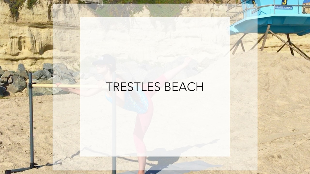 Trestles Beach: 14 Minute Total Body Shaping