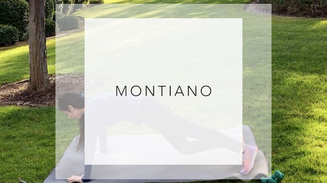 Montiano: 7 Minute Total Body Workout